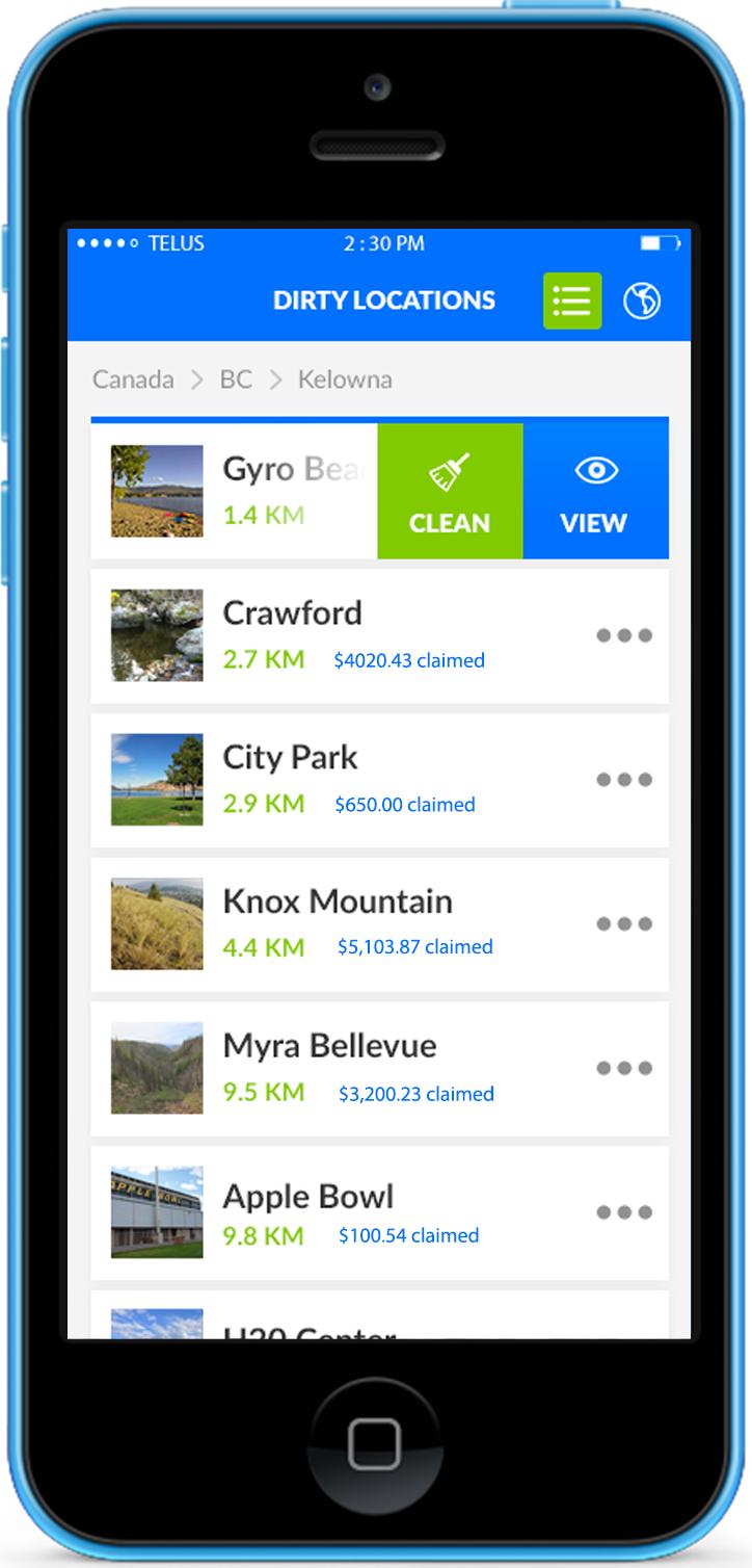 Clean The Creek | iphone screenshot